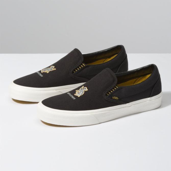 VANS X HARRY POTTER™ SLIP-ON HUFFLEPUFF BLACK