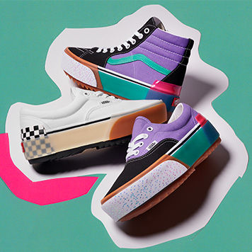 STACKED FOOTWEAR COLLECTION
