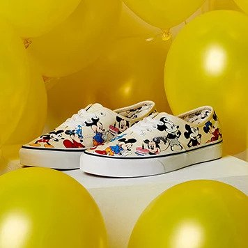 THE VANS AND DISNEY MICKEY MOUSE COLLECTION-COVER