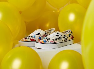 THE VANS AND DISNEY MICKEY MOUSE COLLECTION
