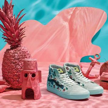 VANS X SPONGEBOB SQUAREPANTS COLLECTION-COVER